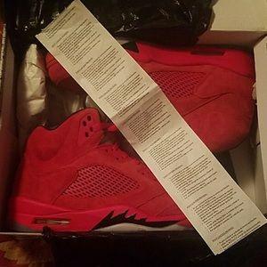Jordan Retro 5s Size 10 Brand New W Receipt